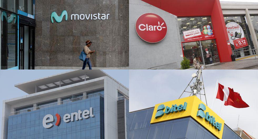 Osiptel advirtió que la mayoría de vendedores ambulantes de chips de las empresas operadoras habrían brindado información no veraz o incompleta a los solicitantes de líneas móviles. (Foto composición: AFP / GEC)