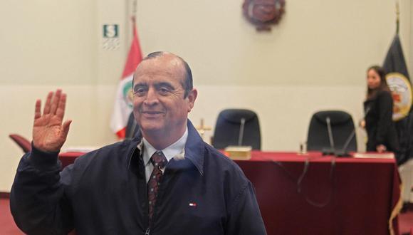 El Centro de Reclusión de Máxima Seguridad (CEREC) detalló que el 28 de mayo, Vladimiro Montesinos pidió permiso para llamar los días 10 y 23 de junio a su pareja. (EFE/Paolo Aguilar)