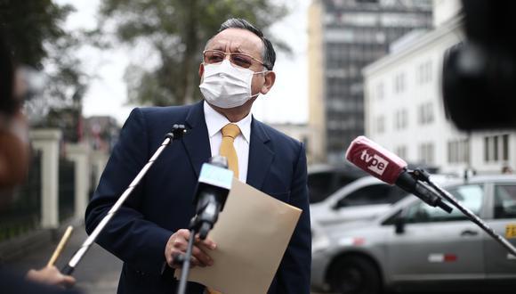 """Alarcón pidió que se le otorgue """"un plazo razonable"""" para designar un nuevo abogado y preparar su defensa legal. (Foto: GEC)"""