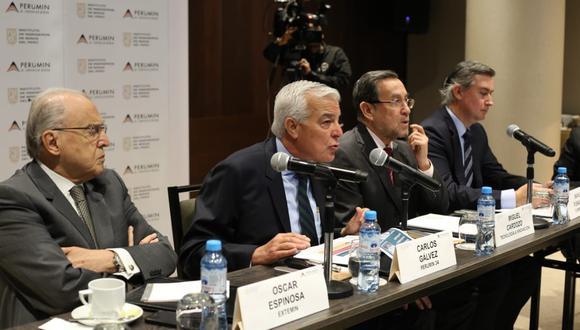 Carlos Gálvez preside el Comité Organizador del Perumin 34. (Foto: Difusión).