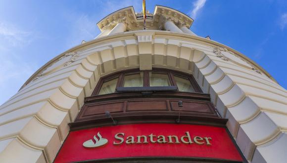 Banco Santander. (Foto: Difusión)