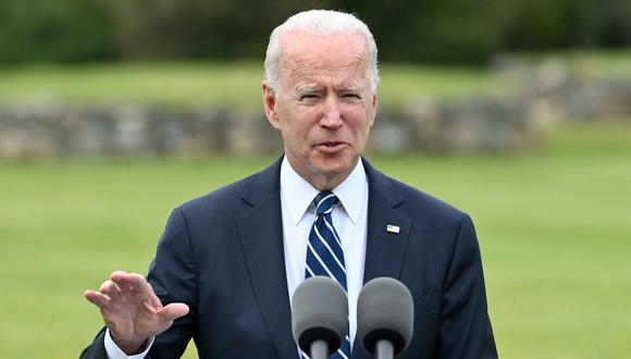 El presidente de Estados Unidos, Joe Biden. (Foto: Brendan SMIALOWSKI / AFP).