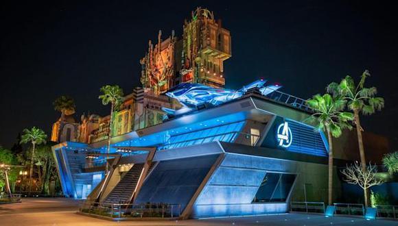 Disney adquirió los personajes de The Avengers como parte de su adquisición en el 2009 de Marvel Entertainment por US$ 4,000 millones y ha estado trabajando para integrarlos en sus parques temáticos.