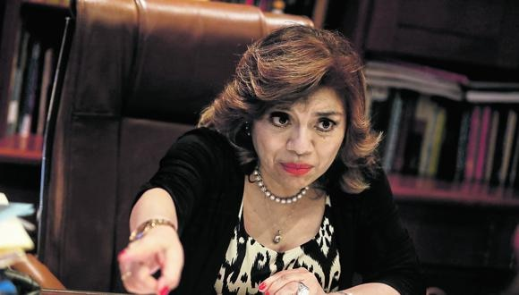 La fiscal de la Nación, Zoraida Ávalos, se pronunció sobre la decisión del Ministerio Público de cremar los restos del terrorista Abimael Guzmán. (Foto: GEC)