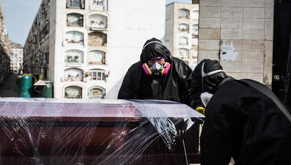 La cantidad de fallecidos aumentó este miércoles. (EFE/ Sergi Rugrand)