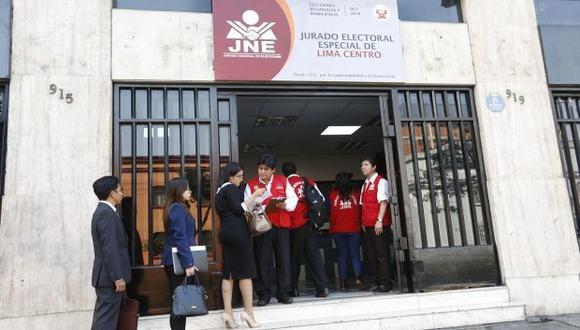 Hoy el JNE instaló 26 Jurados Electorales Especiales a nivel nacional (Foto: JNE)
