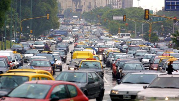 FOTO 14 |En contraparte, un viaje en auto por la ciudad argentina no excede de los 60 minutos. (Foto: AFP)