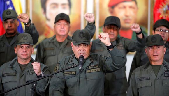 """Padrino López consideró el alzamiento un """"intento de golpe de Estado de una magnitud muy insignificante"""". (Foto: Reuters)"""