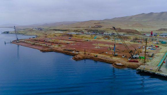 Las obras del puerto San Martín están a cargo de la empresa Terminal Portuario Paracas. (Foto: Difusión