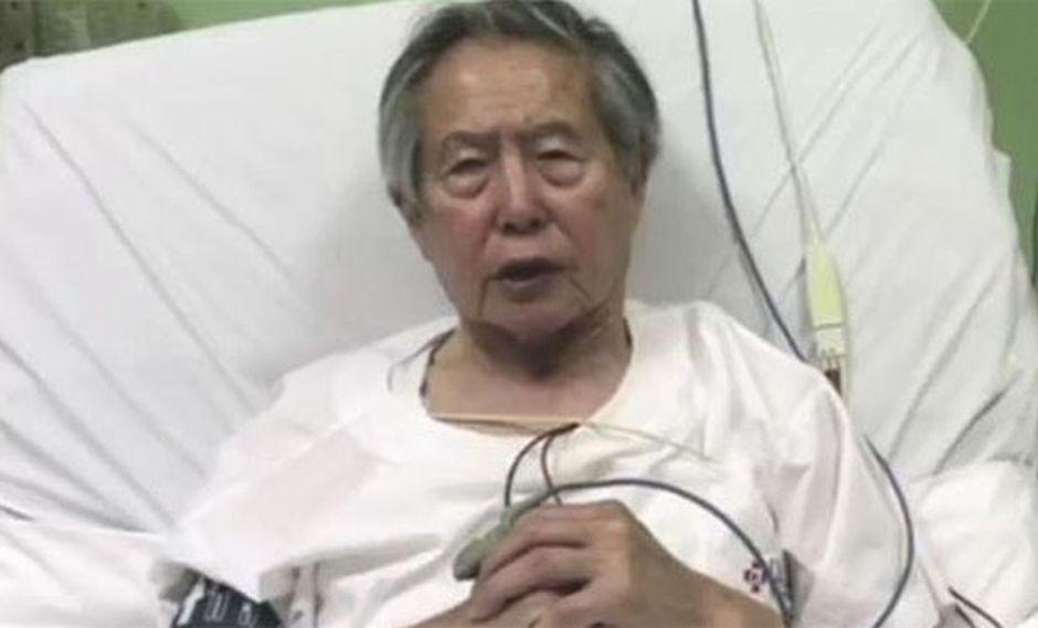 Alberto Fujimori fue sometido a un examen por el Instituto de Medicina Legal del Ministerio Público. (Foto: Agencia Andina)