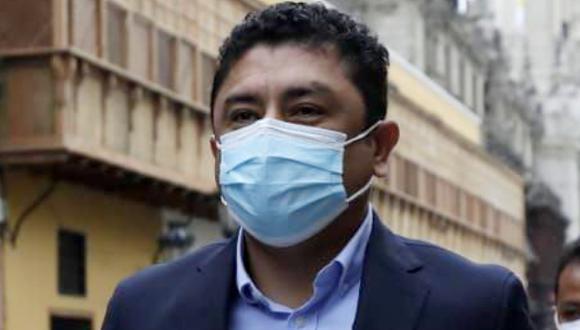 La fiscalía pidió 20 años prisión contra Guillermo Bermejo, acusado por pertenencia y afiliación terrorista a los remanentes de Sendero Luminoso del Vraem, entre el 2008 y marzo del 2009.  (Foto: Jessica Vicente/@photo.gec)
