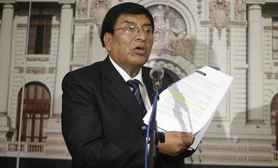 Congresista de la República Lucio Ávila