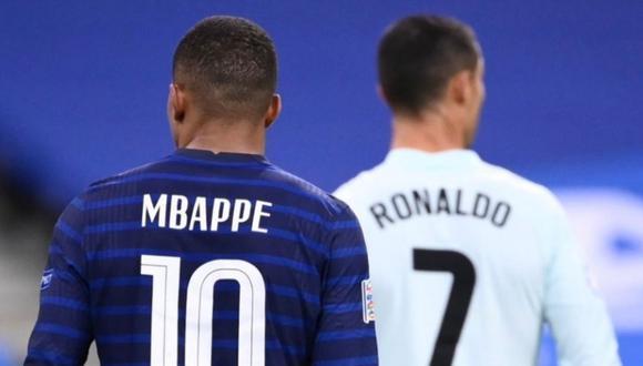 Kylian Mbappé está cada vez más cerca del Real Madrid y Cristiano Ronaldo podría fichar por el Manchester City | Foto: Agencias