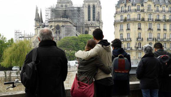 Notre Dame en París (Foto: AFP)