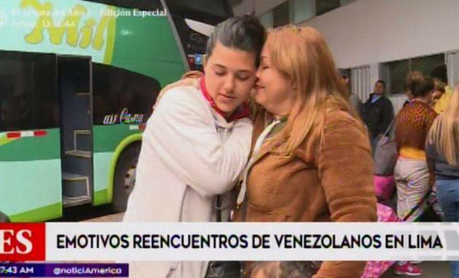 Los venezolanos ahora tendrán que presentar pasaporte para ingresar al país. (Foto: Captura/América Noticias)