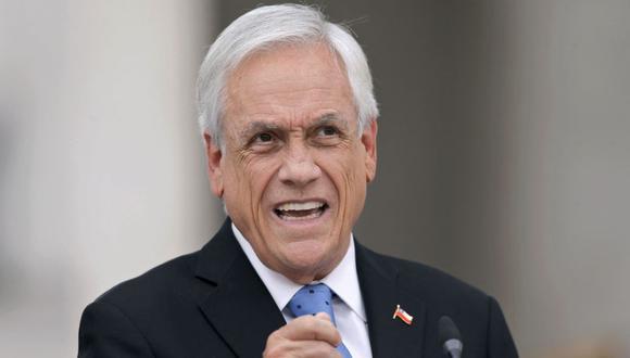 Sebastián Piñera. (Foto: AFP)