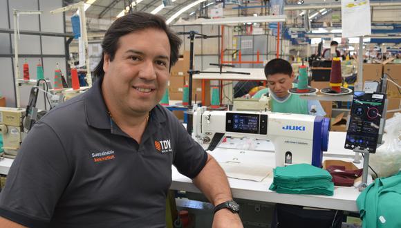 Plan. Juan José Córdova dice que evalúan lanzar marca propia o tenerla en conjunto con otra empresa. (Foto: Difusión)