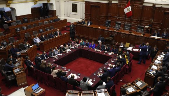 La Comisión Permanente abordará la conformación de la Subcomisión de Acusaciones Constitucionales, entre otros temas. (Foto: GEC)