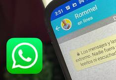 """WhatsApp: por esta razón un contacto sigue """"en línea"""" cuando ya no está conectado"""