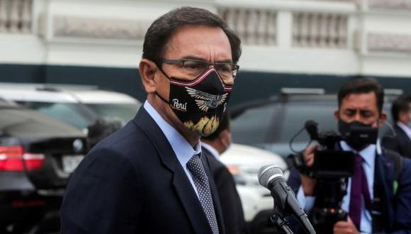 El expresidente Martín Vizcarra también pidió iniciar un proceso de inhabilitación política contra el legislador Carlos Pérez Ochoa. (Foto: GEC)