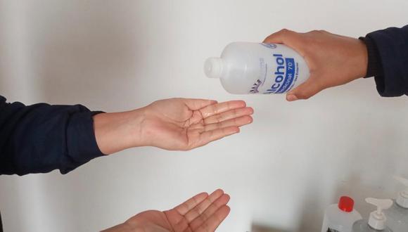 El alcohol de 96° no está sujeto a registro sanitaria o notificación sanitaria otorgada por la Digemid. (Foto: Minsa)