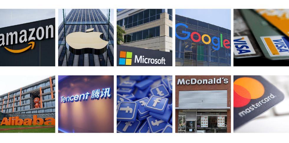 FOTO   Estas son las 25 marcas más valiosas del mundo, según BrandZ