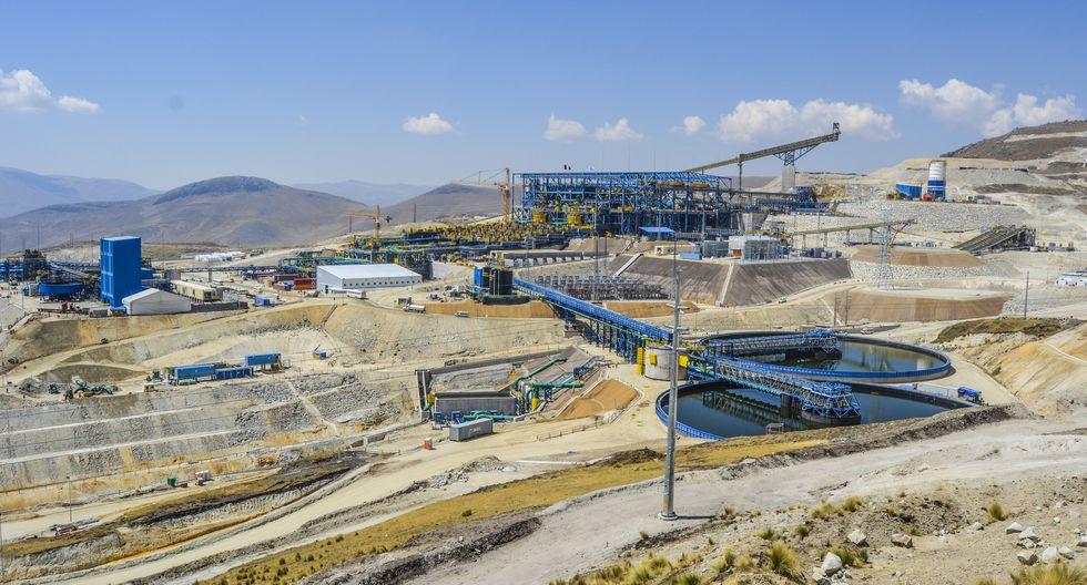 La unidad minera Las Bambas, ubicada en Apurímac, es una de las minas de cobre más grandes del mundo. (Foto: Referencial/ GEC)