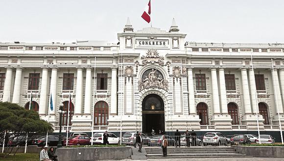 El Congreso de la República. (Foto: GEC)