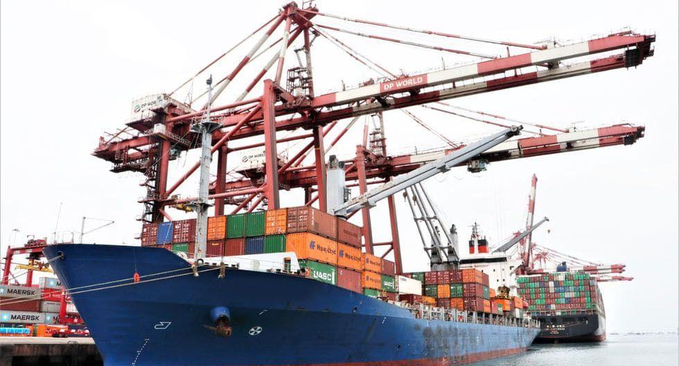 El puerto del Callao atendió a 107 buques comerciales durante la primera etapa de la cuarentena. (Foto: MTC)