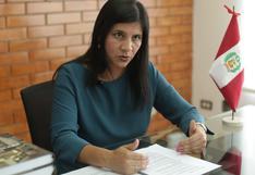 Procuradora Silvana Carrión considera importante continuidad de la fiscal Rocío Sánchez