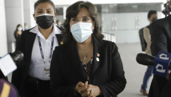 La vicepresidenta de la República, Boluarte participó del Gore Ejecutivo en Loreto este jueves. (Foto: Joel Alonzo/@photo.gec)