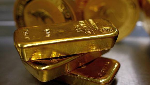 El oro presenta un declive de 0.2% en lo que va de la semana. (Foto: Reuters)