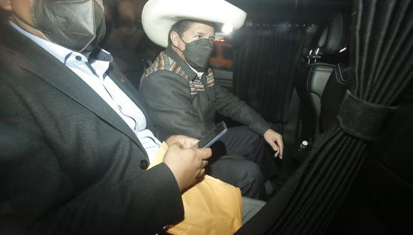 Pedro Castillo no despacha en Palacio de Gobierno y no se tiene certeza en dónde lo hace. (Foto: GEC)