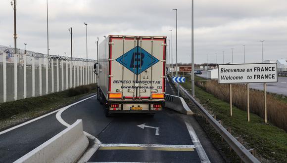 Las cifras reflejan el momento de máximo caos en los puertos británicos, cuando el Gobierno francés cerró la frontera para contener una nueva cepa de COVID-19. (Foto: Bloomberg)