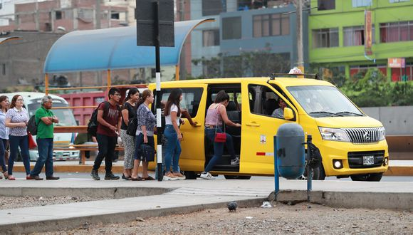 La Defensoría pidió que el transporte público no se convierta en el nuevo foco de contagio del COVID-19. (Foto: Lino Chipana / GEC)