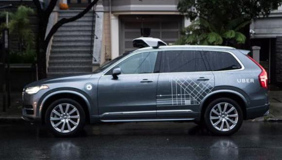 Así luce un vehículo autónomo de la compañía Uber. (Foto: Difusión)