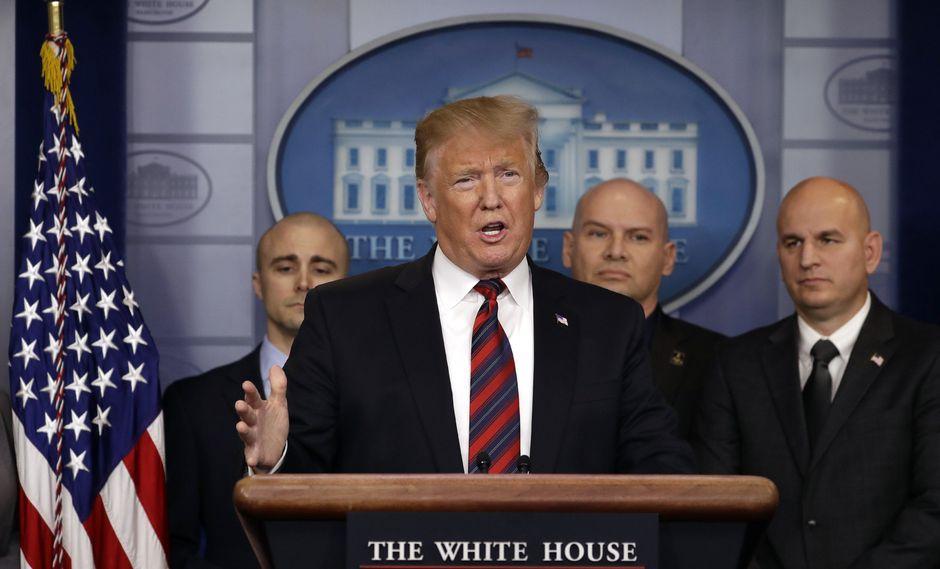 """""""Creo que haremos un acuerdo con China"""", dijo Trump en la Casa Blanca. (Foto: AP)"""