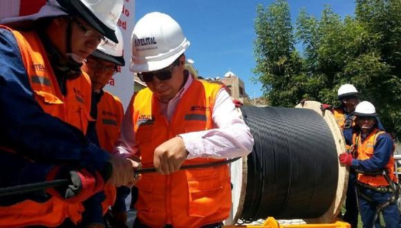 El contrato de concesión de la Red Dorsal Nacional suscrito en el 2014 por el Estado Peruano y Azteca tiene vigencia hasta el 2034. (Foto: Andina)