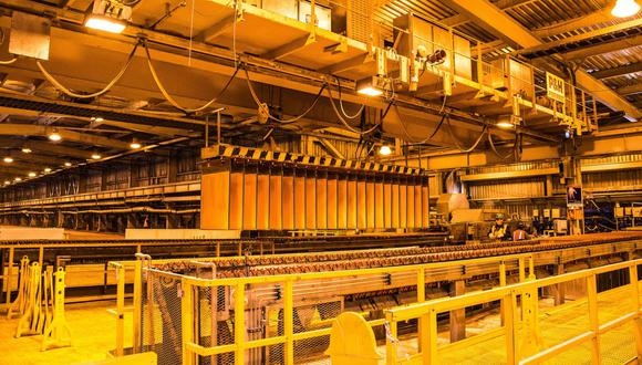 Los precios del cobre continuaban avanzando debido a las importaciones del cobre en China. (Foto: GEC)