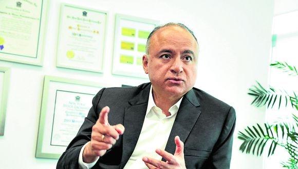 Victor Gobitz es jefe del Instituto de Ingenieros de Minas del Perú y CEO de Buenaventura.