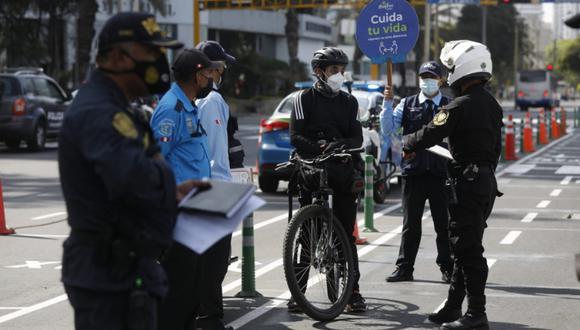 Muchos ciudadanos no respetaron las medidas establecidas para Semana Santa. (Foto: GEC)