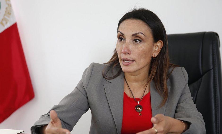 Patricia Donayre indicó que se trata de una reacción política de parte de Chávarry por las denuncias pendientes que tiene en el Congreso. (Foto: USI)