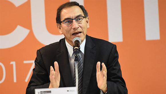"""Martín Vizcarra dijo que desde el Gobierno """"no apresuramos"""" a Uruguay en su evaluación del asilo de Alan García. (Foto: Agencia Andina)"""