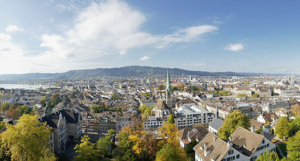 Zurich ocupa el cuarto lugar. (Foto: Pixabay)