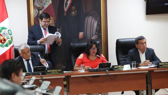 Con tres votos de Fuerza Popular, laComisión de Ética rechazó la denuncia contra Jorge del Castillo. (Foto: Rolly Reyna / GEC)