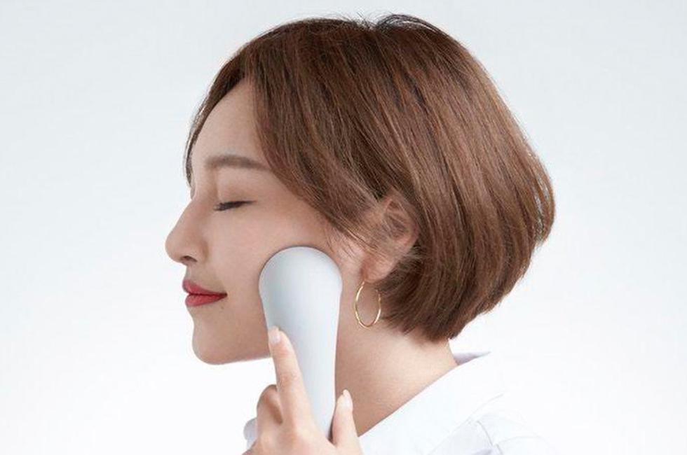 Un dispositivo que analiza el estado de su piel