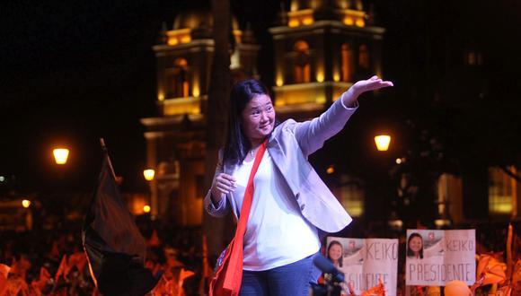 Keiko Fujimori es investigada por el presunto delito de lavado de activos en el caso Odebrecht. (Foto: Lino Chipana)