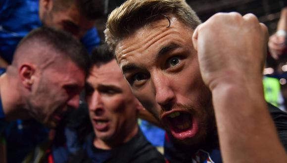 Para sorpresa de muchos, Croacia se clasificó a la final de Rusia 2018. (Foto: AFP)