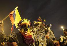 Miles de ecuatorianos salen a las calles y festejan el fin de las protestas