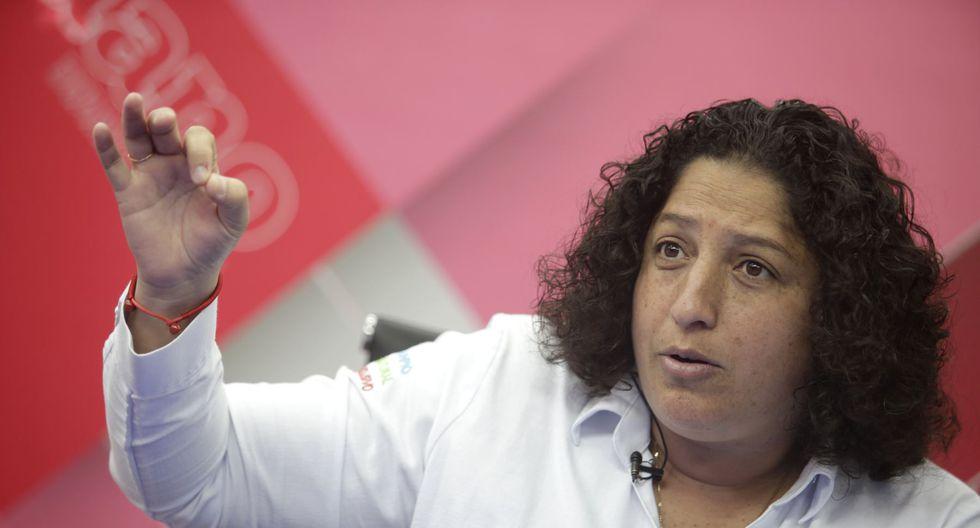Fabiola Muñoz, ministra del Ambiente. (Foto: Andina)